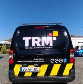 TRM - Decoração de Frota em vinil